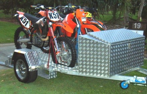 Aluminium Motorcycle Trailers