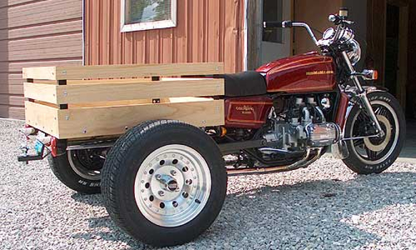 Forward Cargo Motortrike