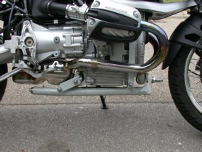 BMW Leaner Motorcycle