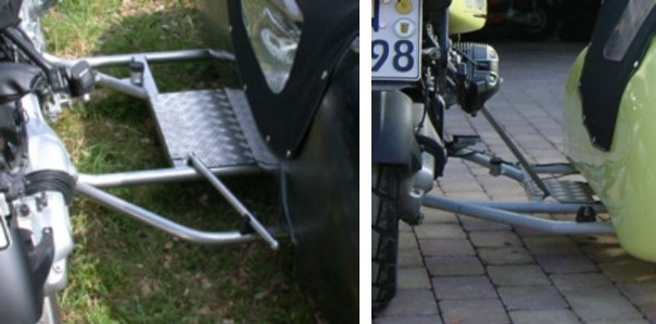 Leaner Motorcycle Sidecar Stand