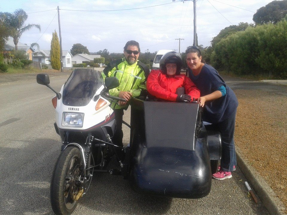 Wheelchair Sidecar Family