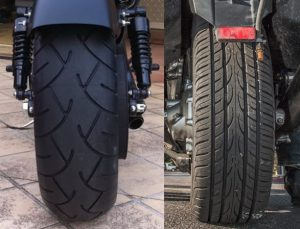 Motorcycle Darkside Rear Tyres