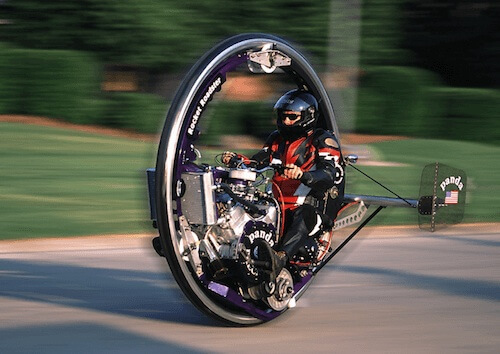 Rocket Roadster Monocycle