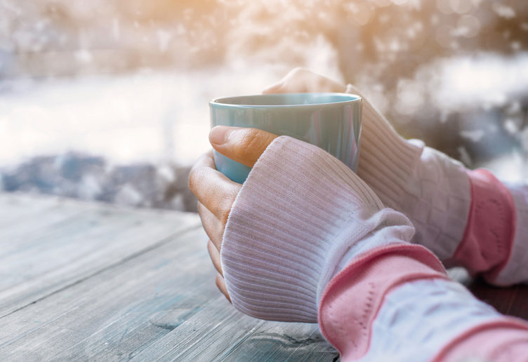 Cold Fingers Hot Cuppa