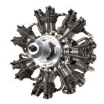7 Cylinder 77cc Radial Engine