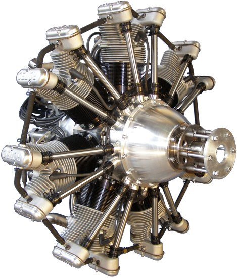 R2800 7 Cyclinder Radial Motorcycle Engine