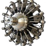 R3600 9 Cylinder Motorcycle Radial Engine