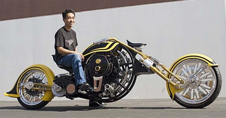 Motorcycle Radial Engine