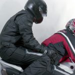 Motorcycle Pillion Grab Handles